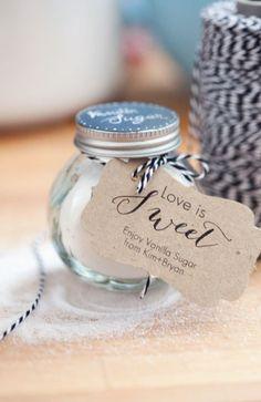 Wedding Favors.. something like this :D cute
