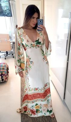 Summer Wear For Women, Night Dress For Women, Maxi Outfits, Boho Outfits, Women's Fashion Dresses, Casual Dresses, Dress And Sneakers Outfit, Diva Fashion, Lovely Dresses