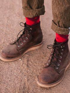 Chippewa 6 Inch Plain Toe Boots