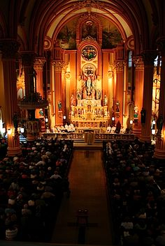 New Orleans' National Shrine of Blessed Francis Xavier Seelos; GOD can make even YOU a Saint!