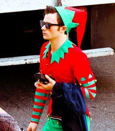 Oh my Season 5 Glee Christmas episode 05x8