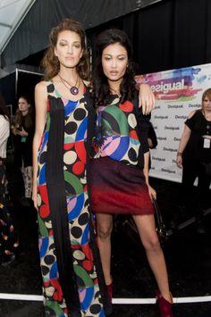 We love colors! And we love how women look nice wearing it! #NYFW