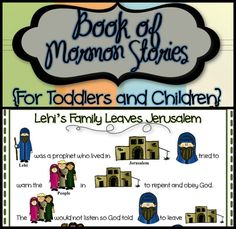 Sets 1 2 & 3  Book of Mormon Stories For Toddlers by TimeSavors, $15.49