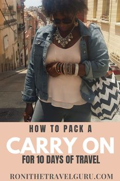 Once you go carry on only, you can't go back! Check out my easy tips and tricks for packing light for a longer trip. No need to skimp on style, though! Group Travel, Travel List, Solo Travel, Packing Toiletries, Packing Tips For Vacation, Packing Light, Carry On Bag, Traveling By Yourself, Travel Inspiration