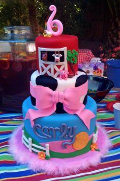 cute little girl cake