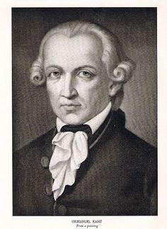 Immanuel Kant (1724-1804), German philosopher