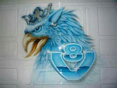 Griffon Tattoo, Scania V8, Road Train, Custom Trucks, Big Trucks, Custom Paint, Tractors, Fancy, Logos