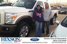 #HappyBirthday to Leslie from Addie Mundy at Hixson Ford of Alexandria!  https://deliverymaxx.com/DealerReviews.aspx?DealerCode=UDRJ  #HappyBirthday #HixsonFordofAlexandria