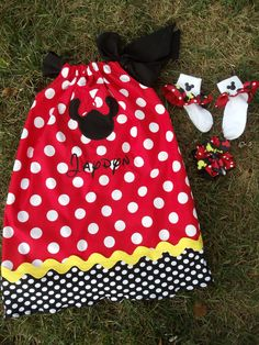 Minnie Mouse pillow case dress