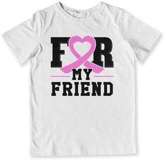 43af9bed738ec YOUTH TEE - Breast Cancer - For My Friend - TEP-53 Breast Cancer Shirts