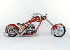 Orange County Chopper: Fire Bike