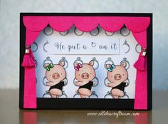 Albita's Craft Room | handmade cards and papercrafting, Mft hog heaven, single ladies