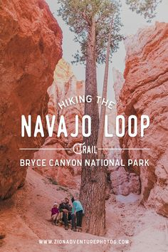 Hiking the Navajo Loop Trail in Bryce Canyon National Park with Zion Adventure Photog