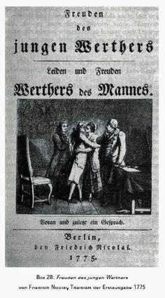 "Van Christoph Friedrich Nicolai (1733-1812) verscheen een satire ""Freuden des jungen Werthers"" in 1775"