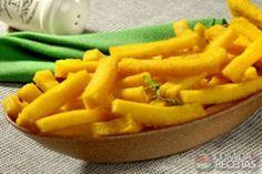 Receita de Polentinha de forno em receitas de salgados, veja essa e outras receitas aqui!                                                                                                                                                                                 Mais