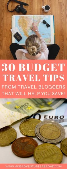 30 Travel Bloggers Share Their Best Budget Tips For Travelers · Discover these 30 essential budget travel tips from travel bloggers! These helpful tips will help you save money on accommodation, food, flights, activities and more, so that you can spend more money adventuring and travel farther and for longer! Happy travels! What are your favorite budget travel tips?