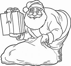 32 Best Christmas Coloring Pages Images On Pinterest