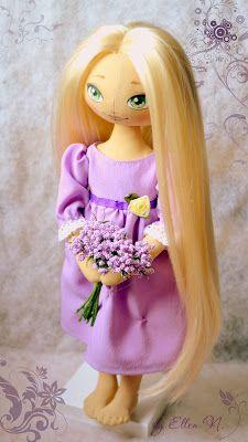 Коллекция кукольных фантазий: Рапунцель http://ellenneg.blogspot.ru