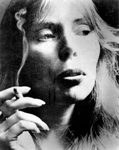 """Henry Diltz     Joni Mitchell     Undated    """"Chase away the demons, and they will take the angels with them."""" Joni Mitchell"""