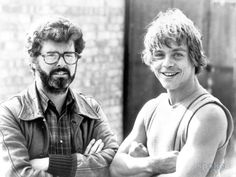Georges Lucas & Mark Hamill