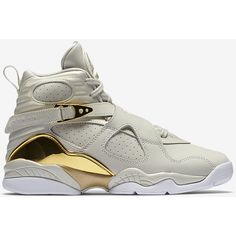 Air Jordan 8 Retro C and C (3.5y-7y) Big Kids' Shoe. Nike.com ($180) ❤ liked on Polyvore featuring shoes
