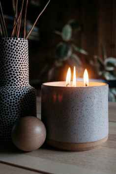 Our new three-wick ceramic candle, available in both the Ojai and Joshua Tree Fragrance. Handmade in California using natural essential oils, in a handmade ceramic vessel. Fall Candles, Mason Jar Candles, Candle Centerpieces, Floating Candles, Wedding Centerpieces, Wedding Bouquets, Wedding Flowers, Bedroom Candles, Backyard Wedding Lighting