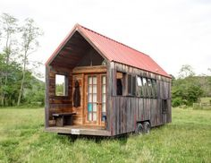 tiny house on wheels, Corrogated Roof and Costing:  This article asks: How much should a tiny house cost?