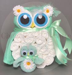 We Owl love Gifts Baby Shower Baskets, Baby Boy Shower, Love Gifts, Baby Gifts, Towel Cakes, Couches, Funny Gifts, Dream Catcher, Children