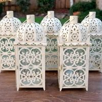 Lacy Wedding Lanterns