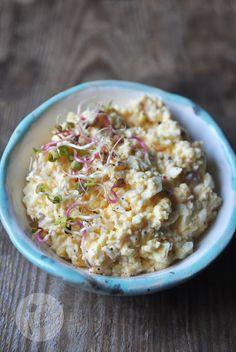 Kardamonowy: Pasta jajeczna z chrzanem