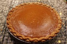 Pumpkin Pie has always been one of my favorite things about Thanksgiving dinner. We always use to buy a Marie Callender's pumpkin pie. One year, our friend Carrie gave us a…