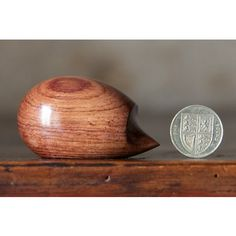 Perry Lancaster | Hedgehog Carved from Honduras Rosewood