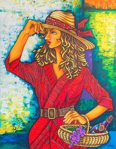 "New ANA Gladys 5B Original Cuban Fine Art Signed Painting Cuba Havana 27x35"" | eBay"