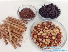 ingrédients de la recette des ferrero rochers à faire maison