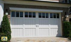 Carriage House Style Garage Doors | Carriage House Doors | Orange County Garage Doors Custom | Home Front ...