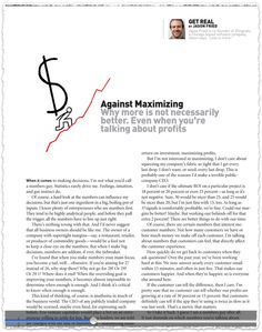 Which numbers matter ? Clipped from Inc. Magazine #clippings