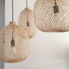 Bamboo Pendant Light, Round Woven Bamboo Hanging Lamp, Re-purposed Spherical Fish Trap Ceiling Lamp, Ball Shape Pendant Lamp, Boho / Bamboo Pendant Light, Round Pendant Light, How To Make Lanterns, Lantern Making, Ceiling Rose, Ceiling Lamp Shades, Ceiling Lights, Bamboo Tree, Chinese Lanterns