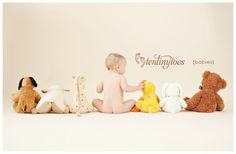 Cute baby photo idea!