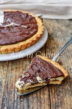 Crostata morbida al caffè dolce veloce Chocolate, Apple Pie, Quiche, Blueberry, Bakery, Food Porn, Food And Drink, Pumpkin, Sweets