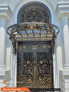 Door Gate Design, Railing Design, Entrance Doors, Decoration, Canopy, Tower, Building, Home Decor, Concrete Slab
