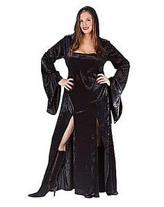 Sultry Sorceress Costume - Plus Size Vampire Costumes Wholesale Halloween Costumes, Sexy Halloween Costumes, Adult Costumes, Costumes For Women, Halloween City, Halloween 2013, Halloween Ideas, Plus Size Vampire Costume, Vampire Costumes