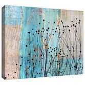 Found it at Wayfair - Dark Silhouette III by Cora Niele Gallery Graphic Art on Canvas