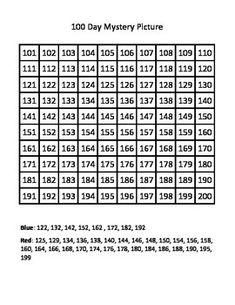 Hundreds Chart 101 200 1000+ images about winn on pinterest skip ...