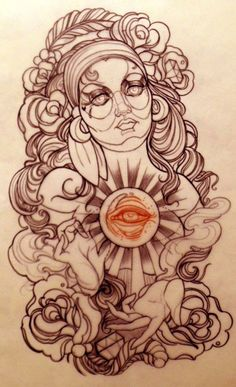 Emerald City Rider: Another great tattooer from Australia. Emily Rose...