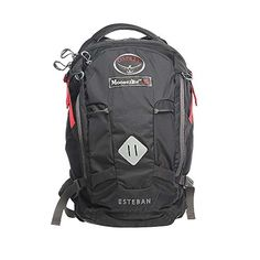 Moosejaw COLAB Esteban Pack by Osprey Black  Grey One Size >>> Read more  at the image link.