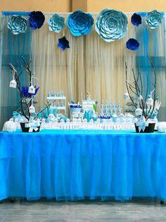 Resultado de imagen para decoracion de mesa para fiesta de - Fiesta cumpleanos adulto ...
