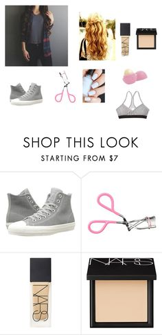 """""""Mckenna's Magcon Outfit"""" by brooklyn-953 ❤ liked on Polyvore featuring Converse, NARS Cosmetics and Eos"""