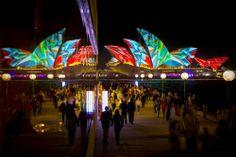 Sydney Illuminates Itself with City-Wide Light Festival