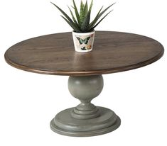Serpentaire Round Pedestal Coffee Table