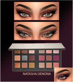 NATASHA DENONA STAR EYESHADOW by HallowSims (Sims 4) - For Females; - 18 colors - Teen/Young Adult/Adult/Elder; - Custom thumbnail; - For best results use with ****this*** or ***this*** - Smooth texture 2048&4096 Download the...